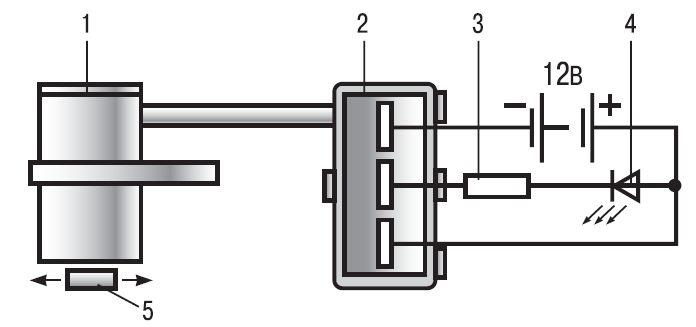 9.7) и подсоедините провода к