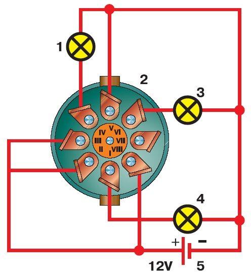 Кнопка аварийной сигнализации газ схема