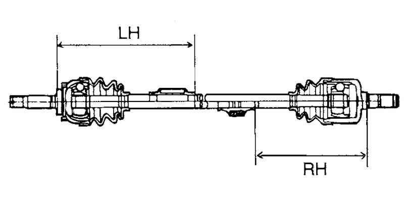 Для установки динамического демпфера, удерживая внешний ШРУС и вал привода колеса так, чтобы они находились на прямой...