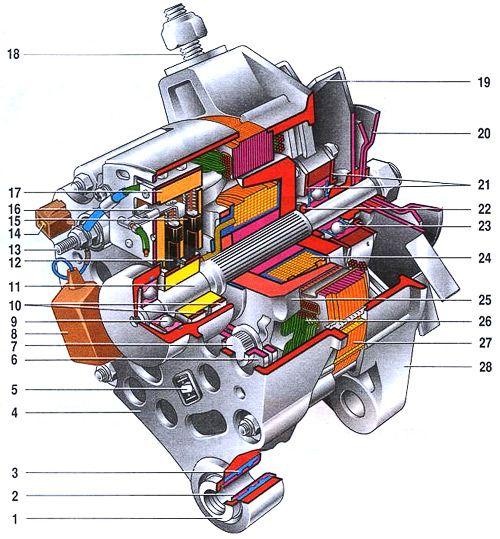 генератор valeo схема.
