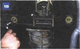 Снятие и установка коробки передач на автомобиле с двигателем УМПО-331