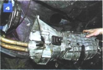 Снятие и установка коробки передач на автомобиле с двигателем ВАЗ-2106