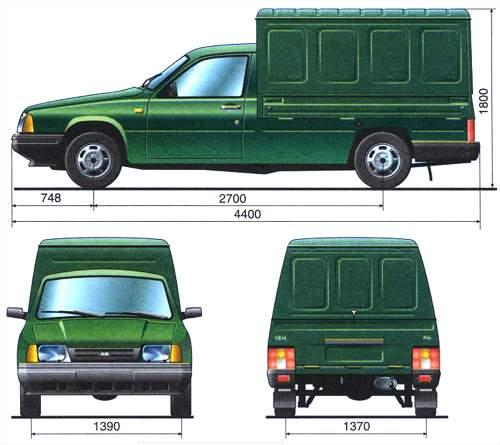 """Иж-2126  """"Ода """", Иж-2717 и их модификации - легковые автомобили с передним продольным"""