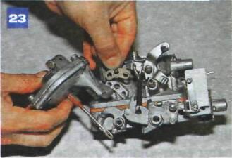 ремонт карбюратора ваз 2107 пневмопривод дроссельной заслонки2.
