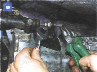 Регулировка привода выключения сцепления