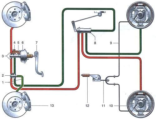 Схема расположения датчика включения вентилятора ваз 2107