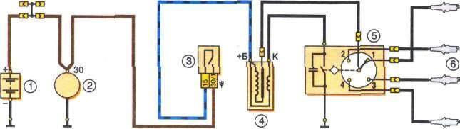 Контактная система зажигания состоит из выключателя зажигания, катушки зажигания, прерывателя-распределителя...