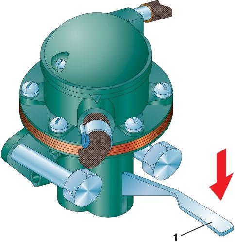 Рис 1 22 топливный насос двигателя 1