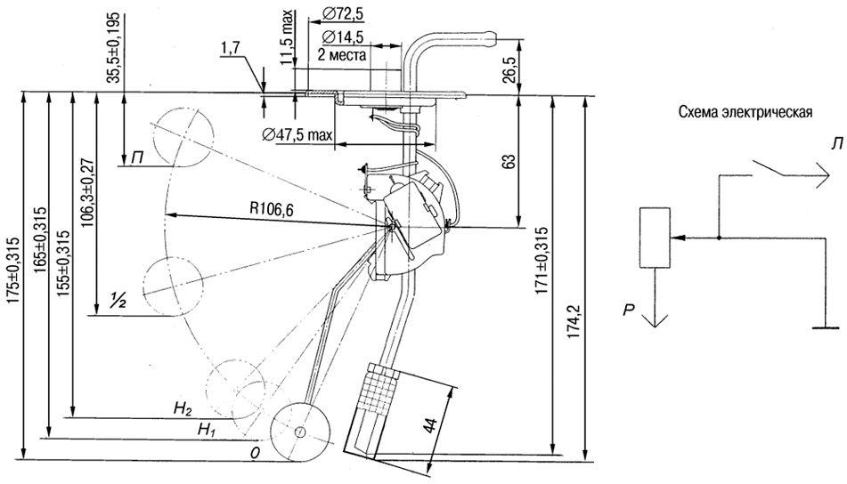 Схема электрооборудования иж ода 2126 датчик и указатель топлива фабула