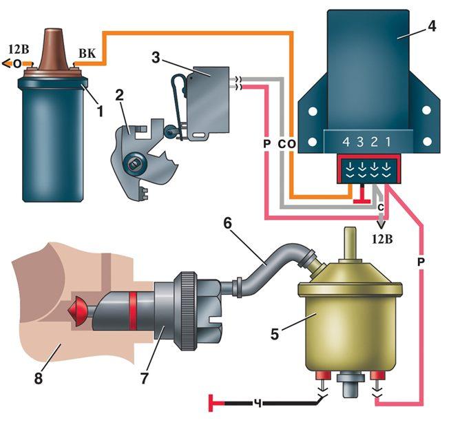 Схема генератора 2114