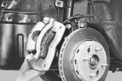 80 Киа Спектра замена тормозного диска и суппорта 3 Замена суппорта переднего тормозного устройства Вам понадобятся...