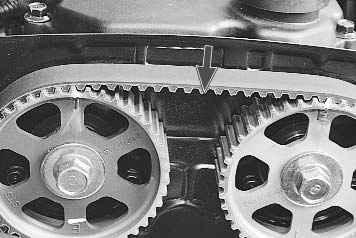 5 Киа Спектра установка ВМТ дввигателя 3 Монтаж поршня первого цилиндра в расположение Вмт такта сжатия Поршень...