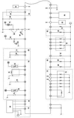 Монтажная схема системы управления топливной системой автомобиля Mazda 3 с иммобилайзером (часть 2 - продолжение) .