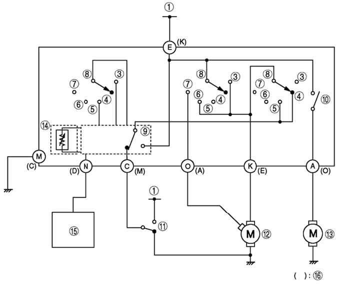 Указатель температуры охлаждающей жидкости аналогового (стрелочного