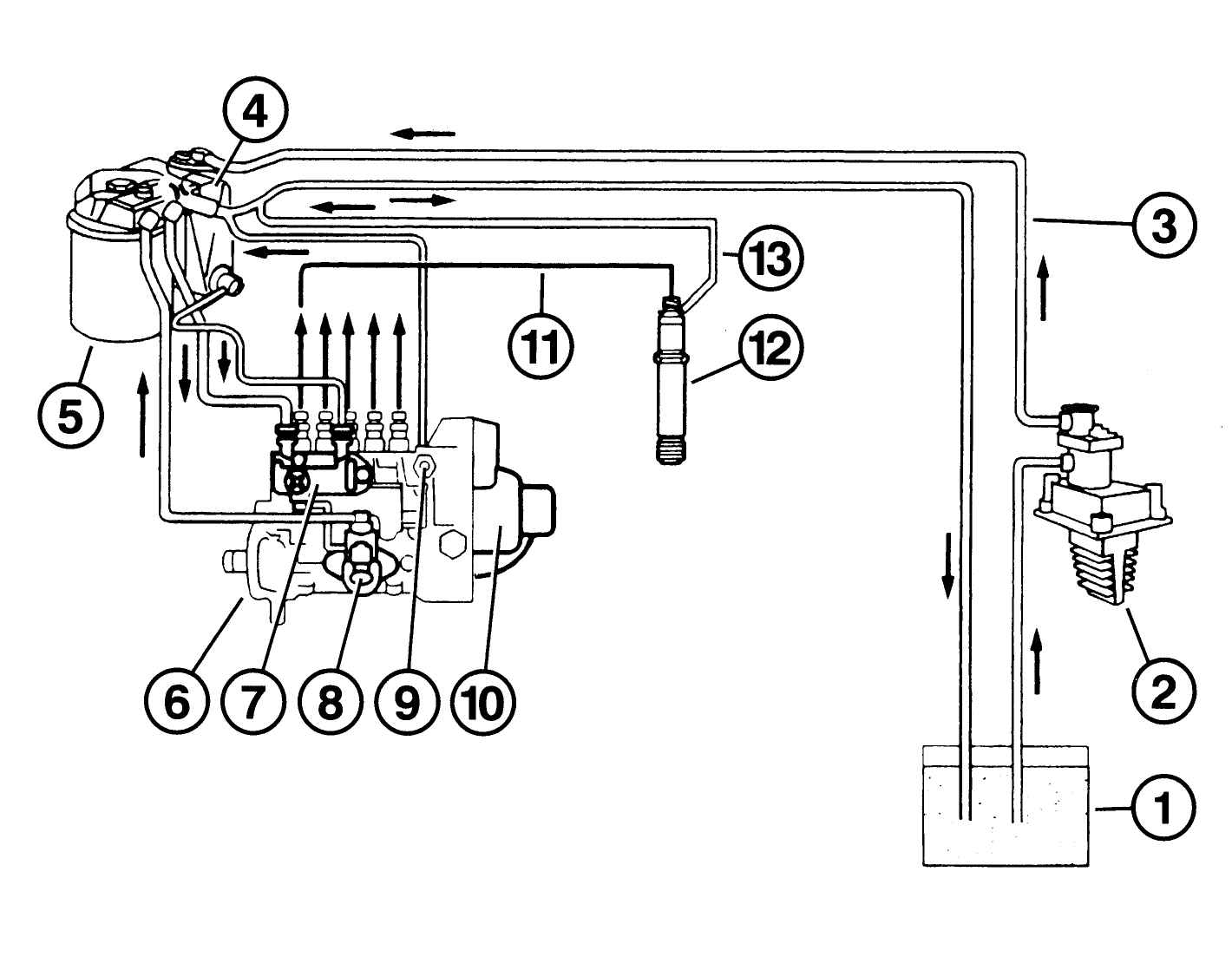 Схема тнвд 601 двигатель