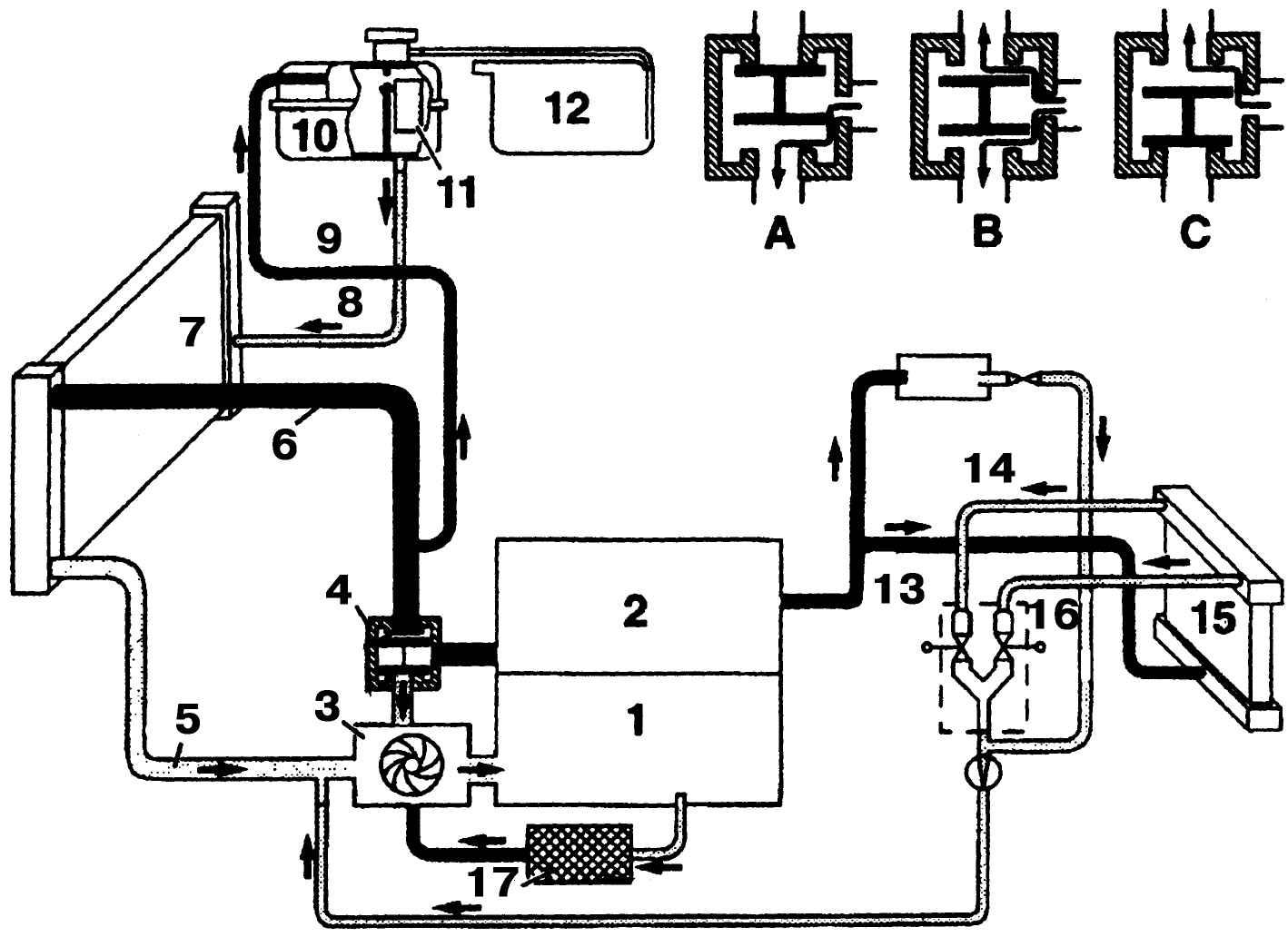 угу. тогда, а на кой лят Вы пользуетесь схемой охлаждения дизельного двигателя??? вот Ваша схема для начала.