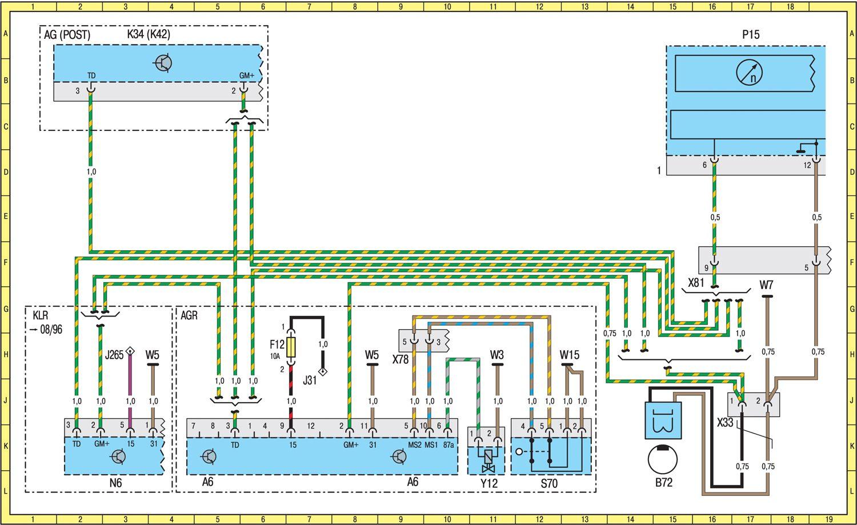 Вот G-раф выкладывал ссылку на полезный сайтик, где есть электро-схемы 463-го.  Стырил оттуда схему Спринтера с...