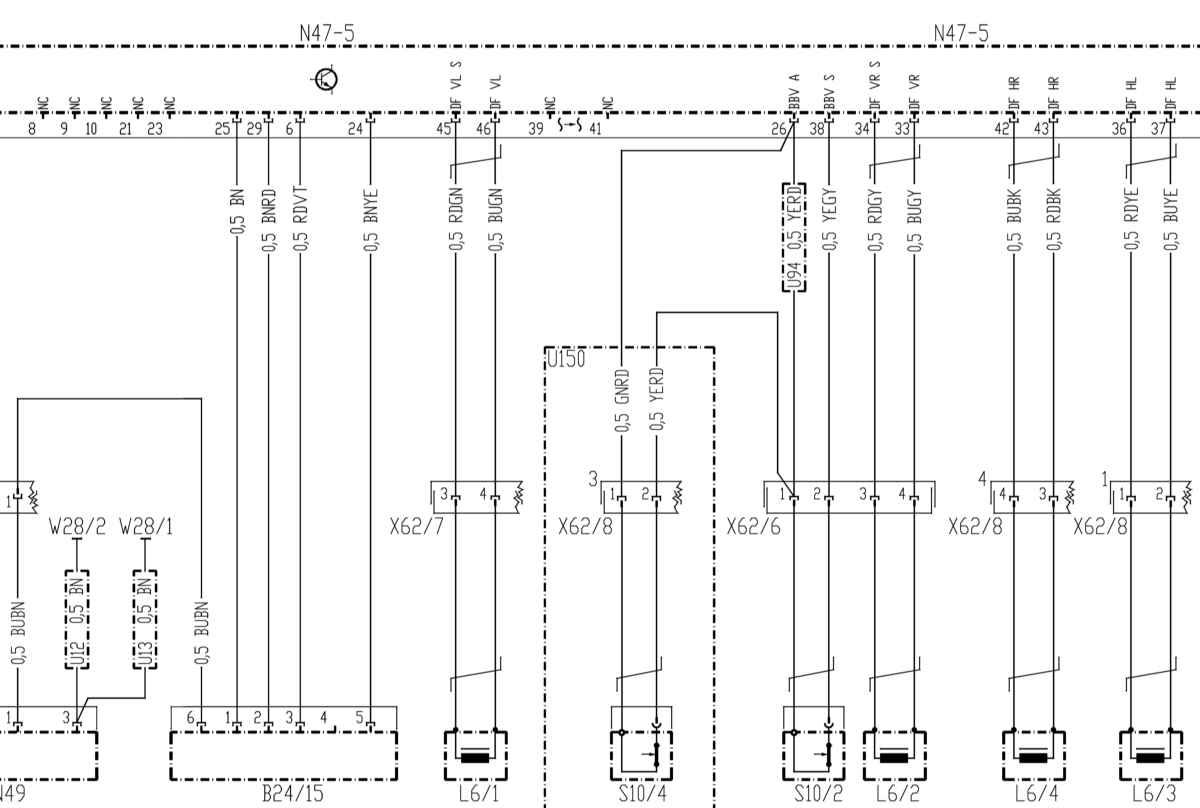 Мерседес-Бенц 203  Противозаносная система ESP  Mercedes-Benz C