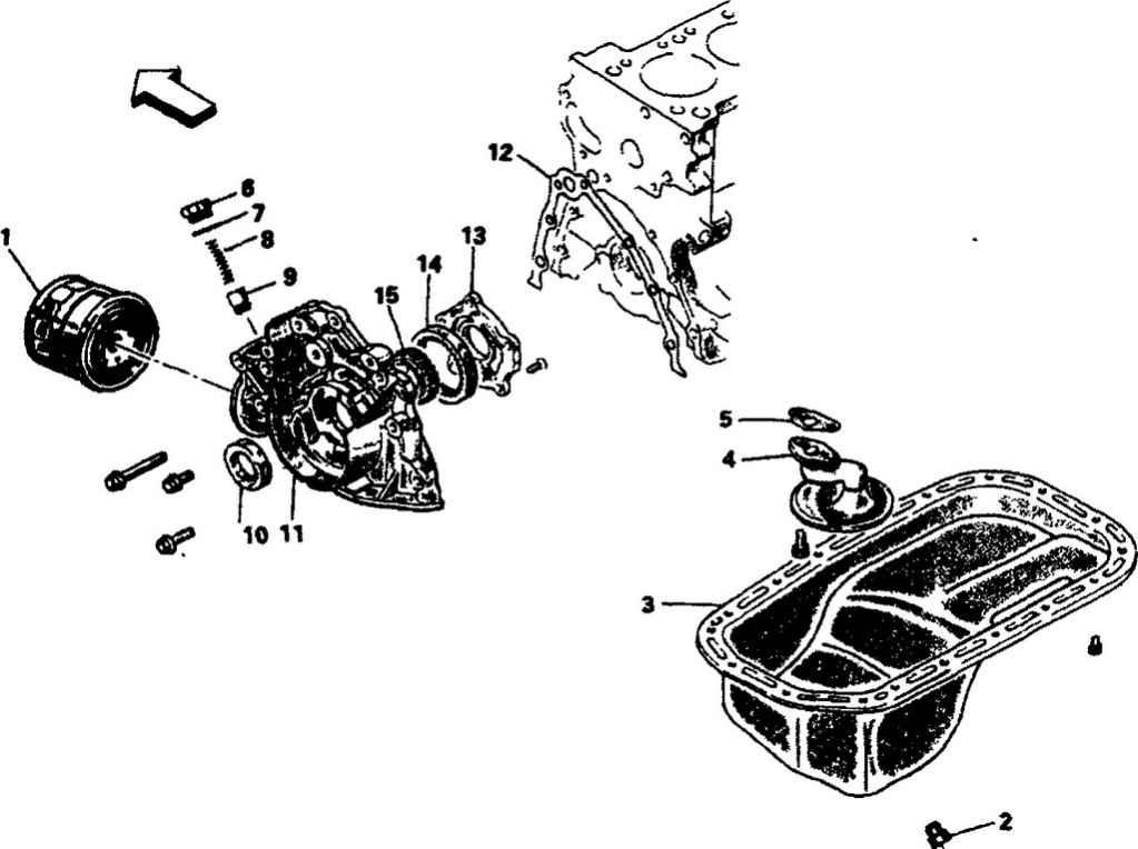 Схема смазки подшипников карданного шарнира.