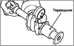 Проверка давления открытия клапана пробки радиатора