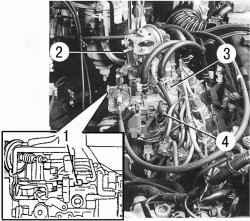 Регулировочные винты ТНВД (двигатель CD20)
