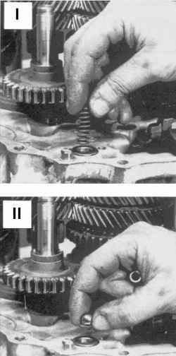 Извлечение деталей фиксатора