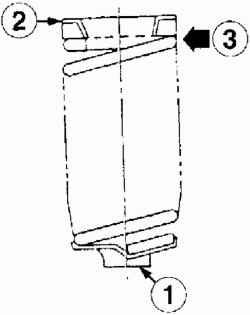 Положение пружины подвески