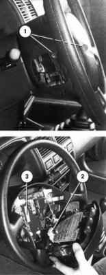 Блок подушки безопасности пассажира