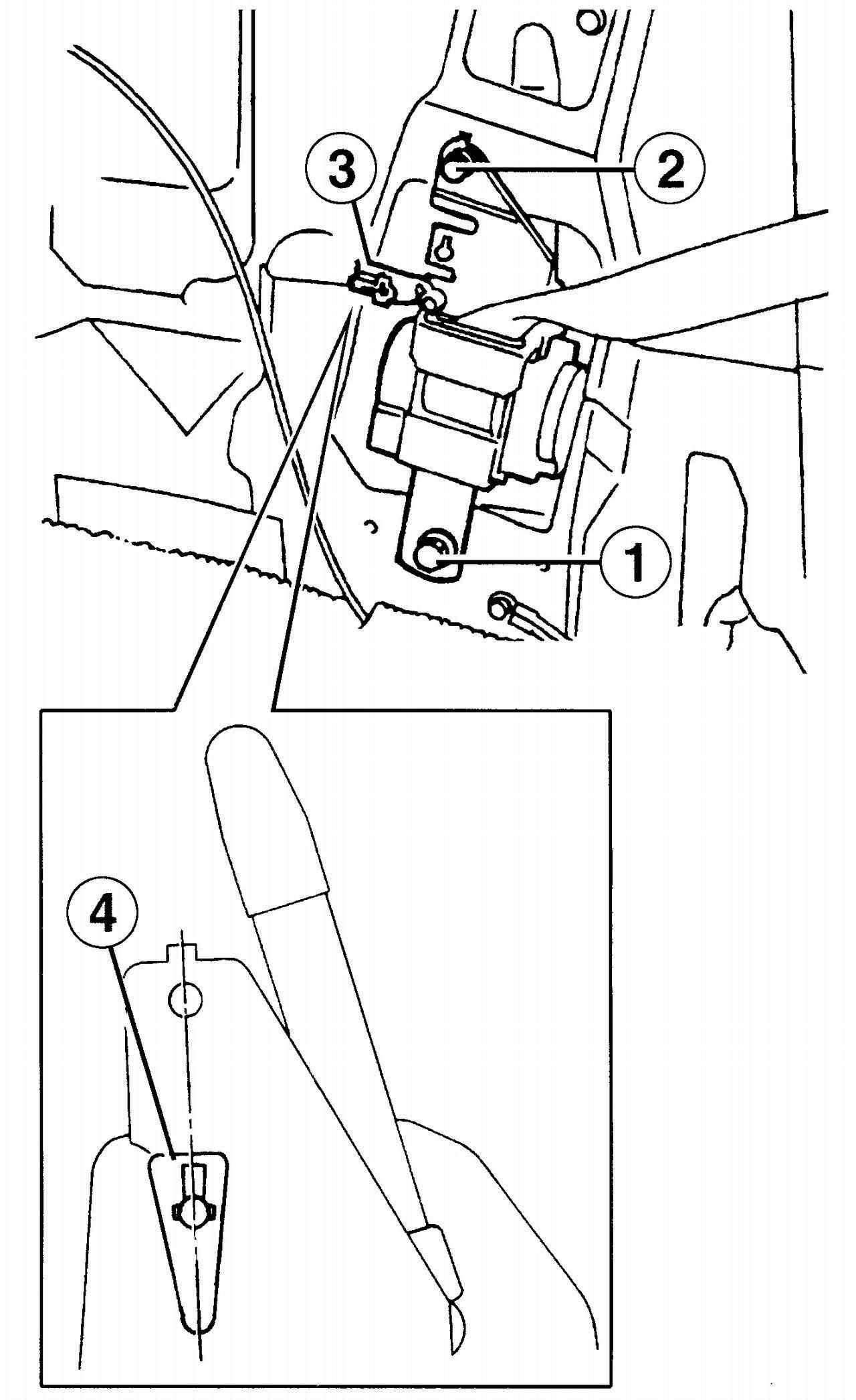 Ремень безопасности устройство 7