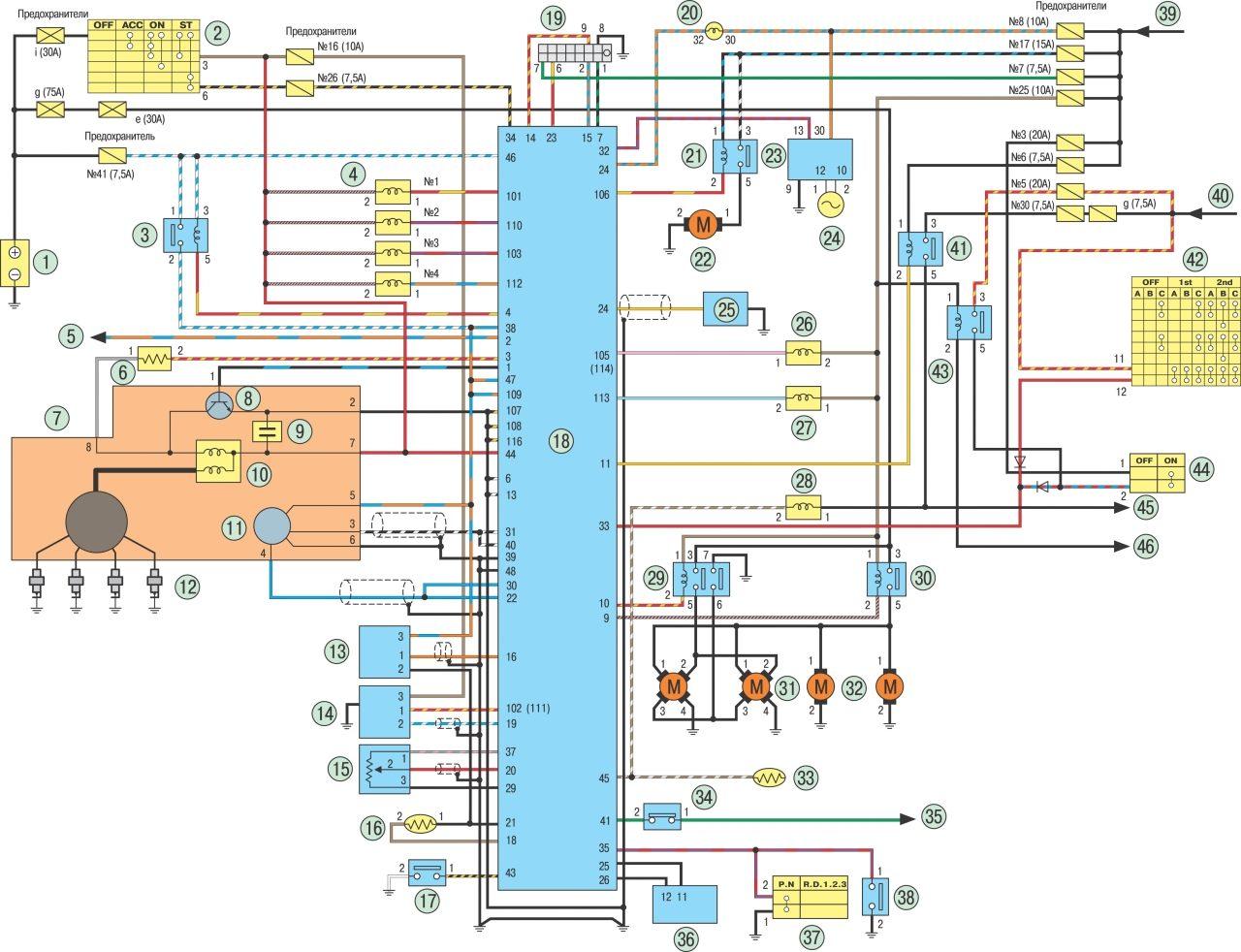 Схемы управления электро двигателями.