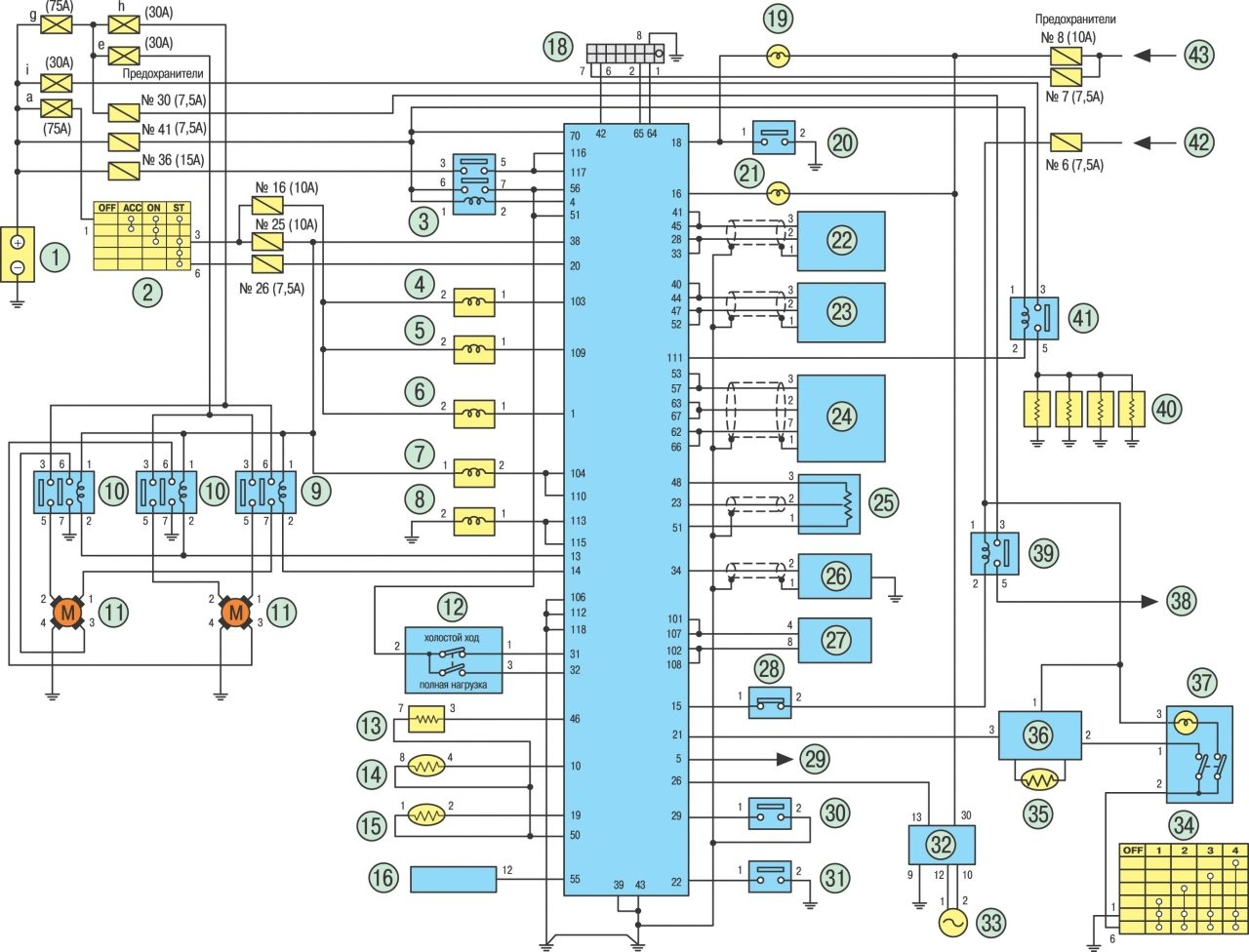 almera n15 схема кондиционер