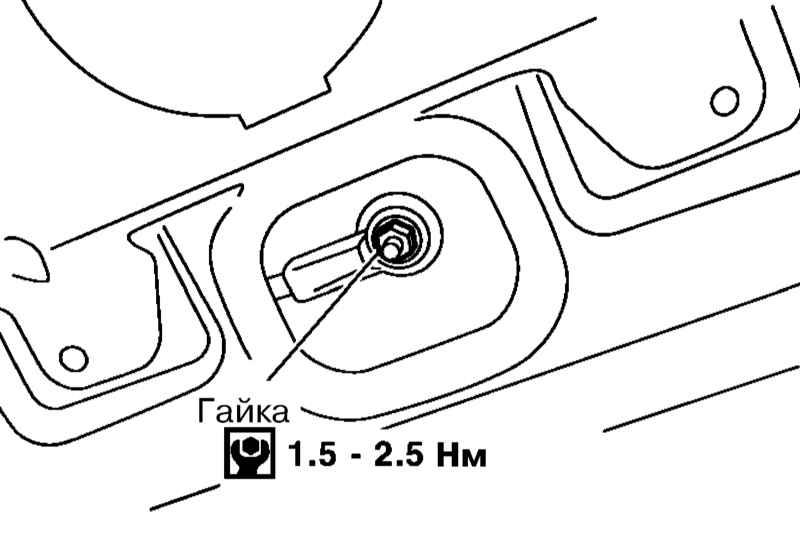 Схема установки бортовой