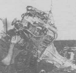 4.20 Демонтаж двигателя