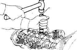 10.3 Напрессовка колпачков с помощью приспособления