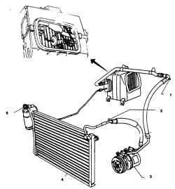 Схема нанесения герметика на поверхность масляного картера.