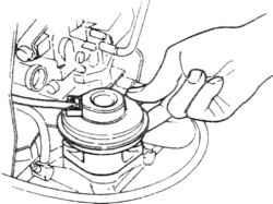 3.4 Проверка диафрагмы клапана рециркуляции