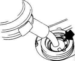 3.5б Пружинное кольцо рычага КПП (на  а/м  поздних выпусков)