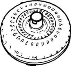 7.25 Выборка на гидротрансформаторе, которую надо совместить с выступом на насосе