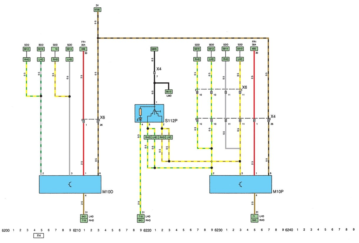 ситроен с4 электросхема абс