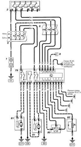 Общий. комментариев.  Astra G Принципиальная схема.  Система охлаждения с К/В (бензин). написал 01.09.10.