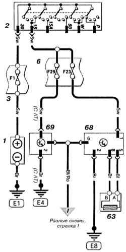 Датчик скорости (VSS) без ABS (Astra бензин) Opel Astra.