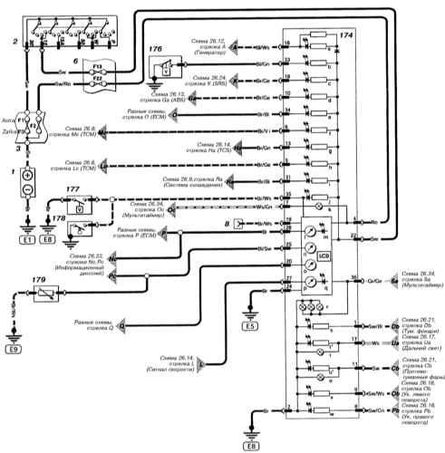 Схема приборной панели опель астра g
