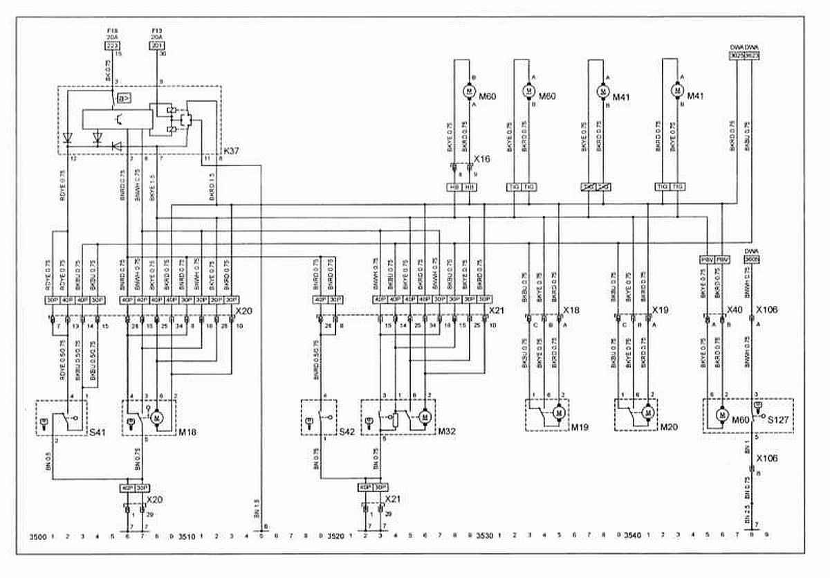 Схемы электрических соединений - общая информация.