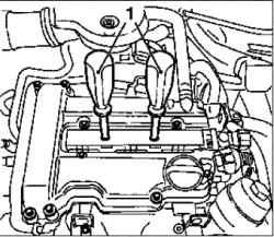 Проверка компрессии двигателя (Z10XE, Z10XEP)