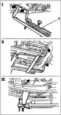 Замена поликлинового ремня (Z10XE, Z10XEP, с кондиционером)