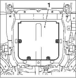 Замена моторного масла (Z10XE, Z10XEP)