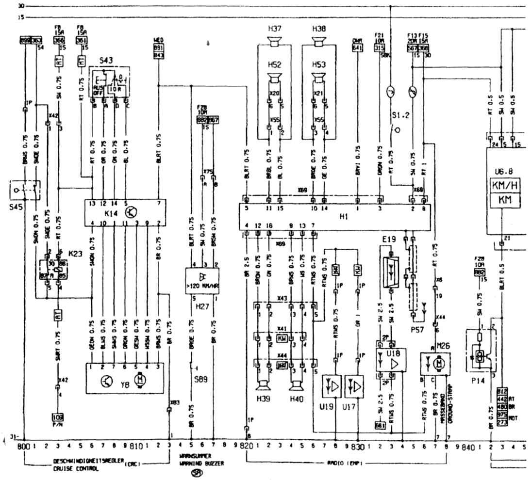 Opel omega и схема автомобиля