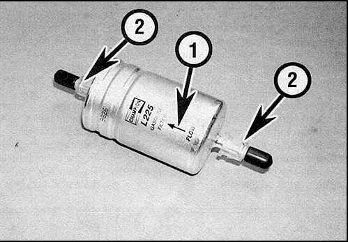Замена топливного фильтра на опель омега б