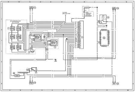 электрическая схема пежо 207