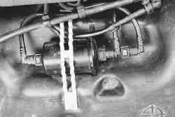 Проверка давления в системе питания двигателя